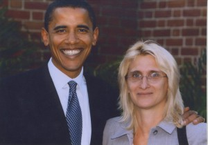 Nadine-Hack-Barack-Obama-2004-US-Senate-primary-campaign