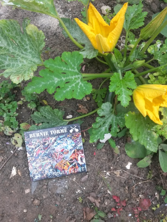 Flowers and Dirt - literally - Click to buy the CD or download now