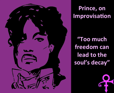 Prince on improvisation